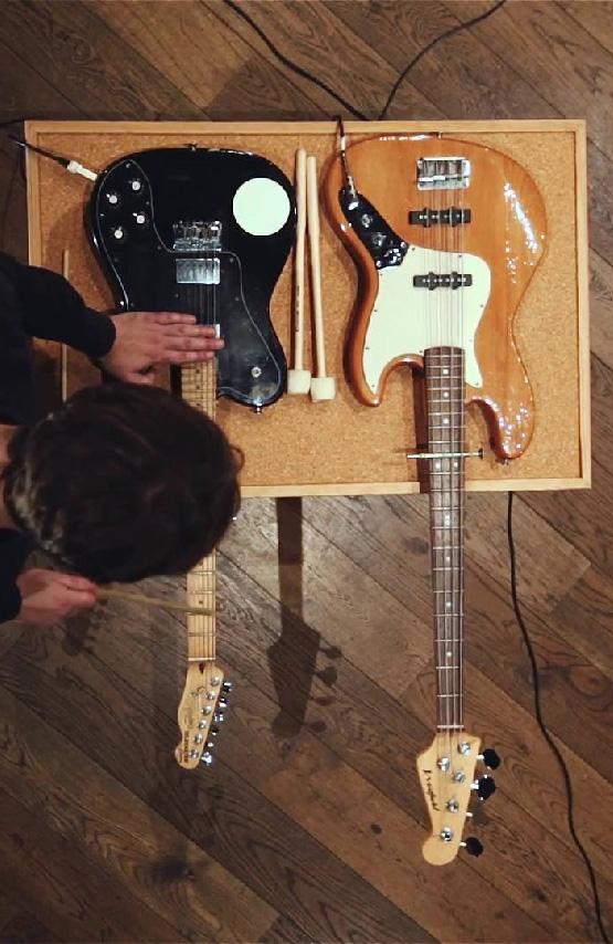 Full of Noises 4.5 - Prepared Guitar workshop w/ Ex-Easter Island Head 28/10/18 36