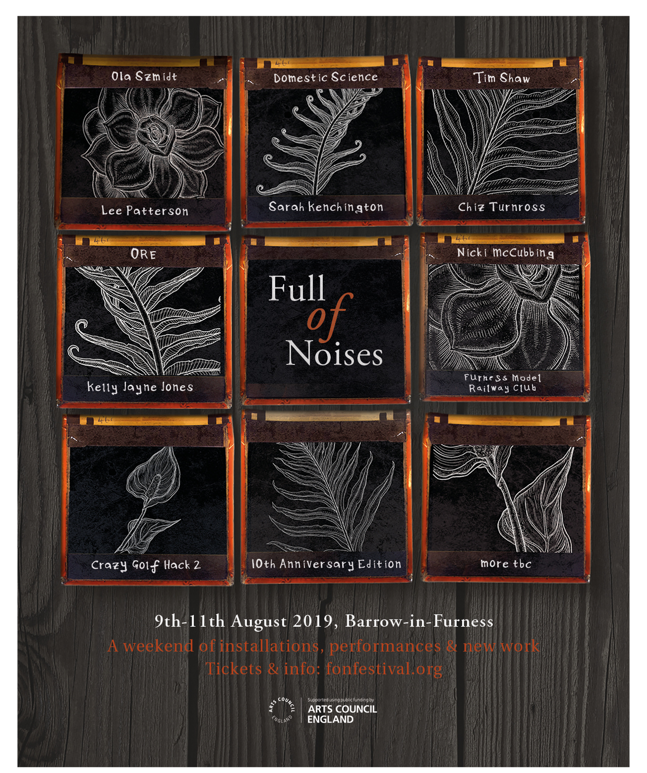 Full of Noises 2019 - 09-11/08/19