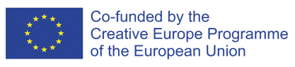 Co-funded by the Creative European Union