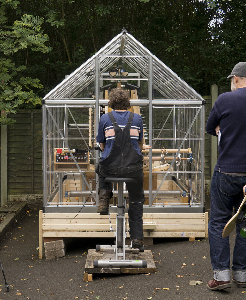 CROP – Barrow Park – Thing Thong installation 2018 – image by Benedict Phillips 2