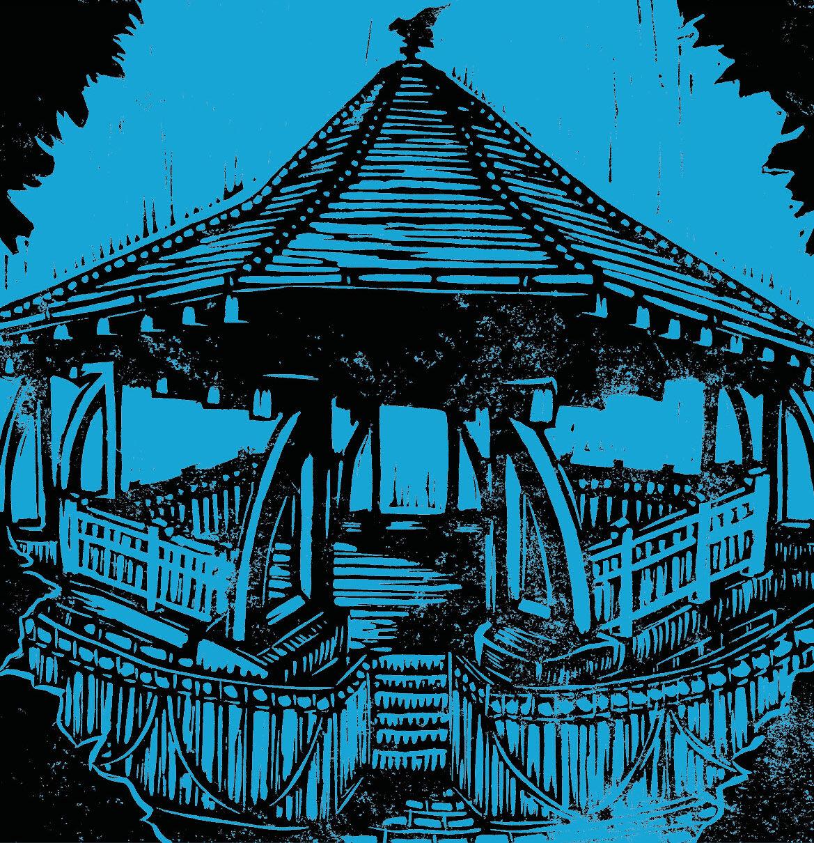 bandstand blue